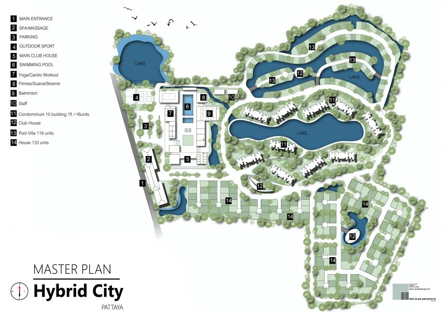 Health Land Pattaya (Hybrid City Master Plan)